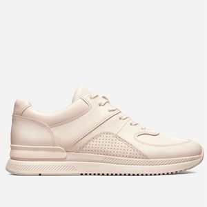 Everlane • Trainer Leather Sneakers in Blush, 13.5
